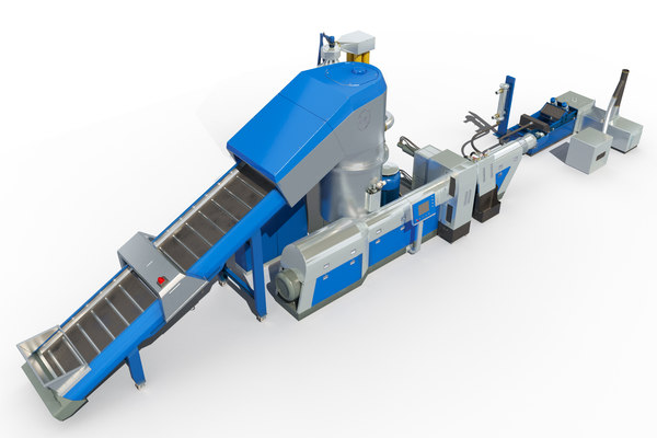 3D model recycling machine