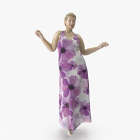 size mannequin 01 pose 3D model