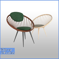 3D yngve circle chair model