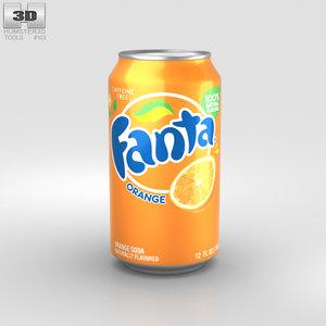 fanta orange model