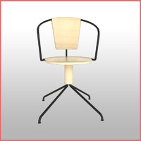 mattiazzi uncino b chair 3D model