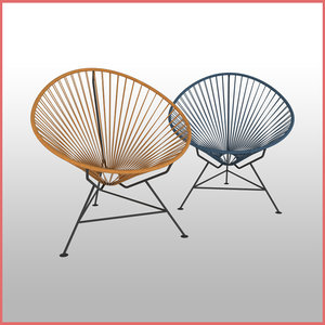 3D acapulco chair