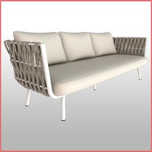 tosca sofa 3D model