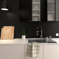 kitchen interior 3D