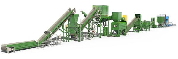 3D set factory model