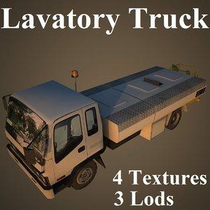 lavatory truck isuzu model