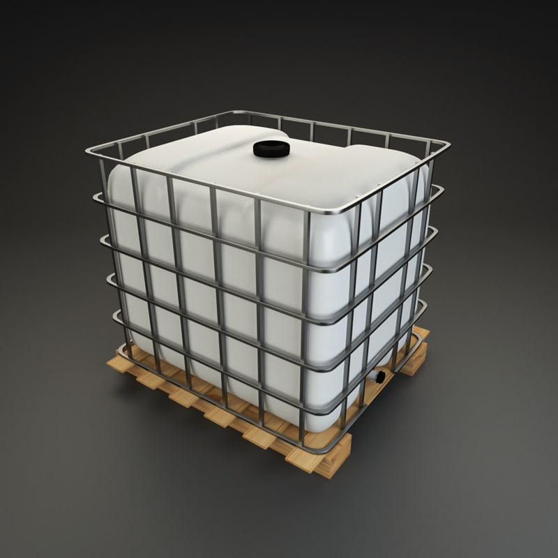 ibc container 3D model