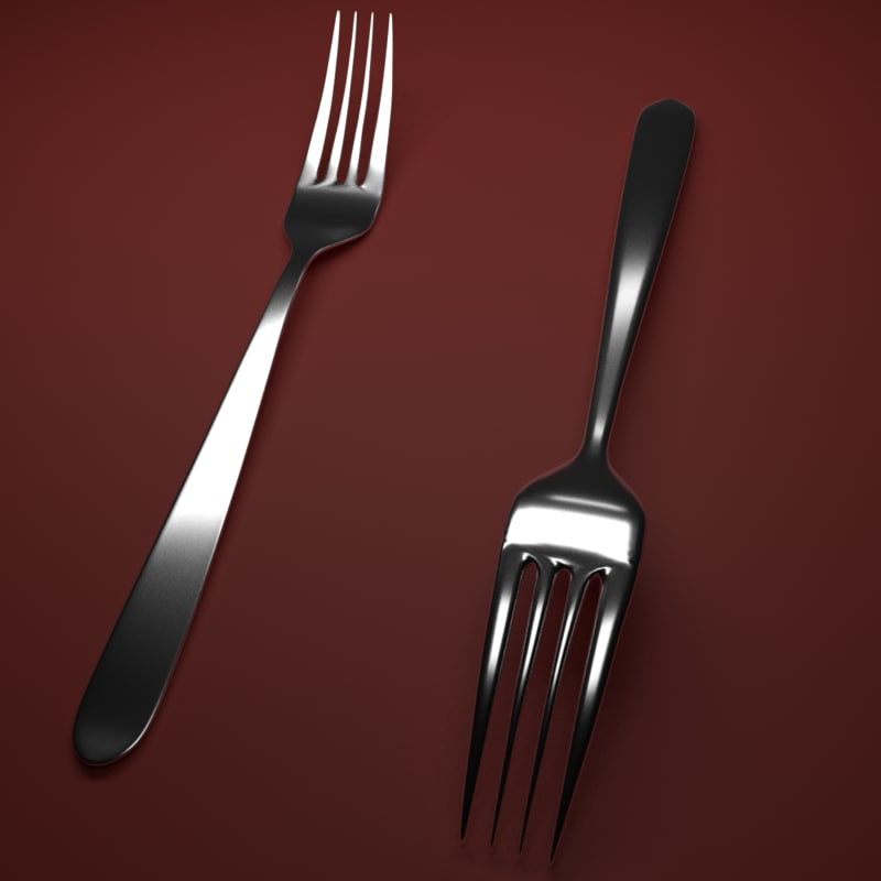 fork cycles 3D