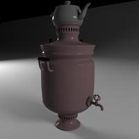 3D samovar model