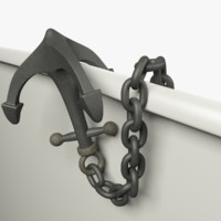 anchor chain 3D model