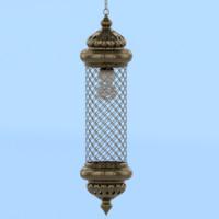 lantern designed 3D model