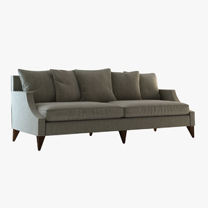 3D model sofa 6959 baker