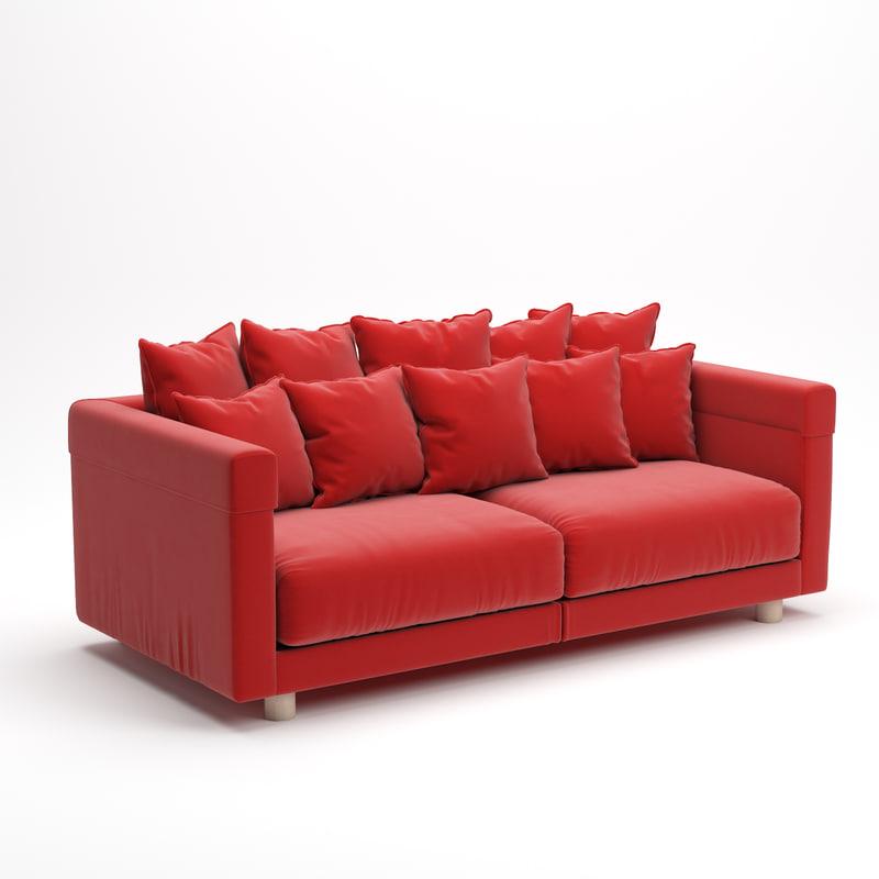 3D sofa stockholm