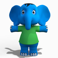 Baby Cartoon Elephant