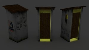 toilet dae 3D