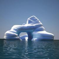 iceberg v4 3D model