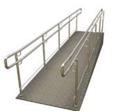 3D ramp entrance