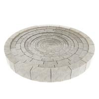 stone circle floor