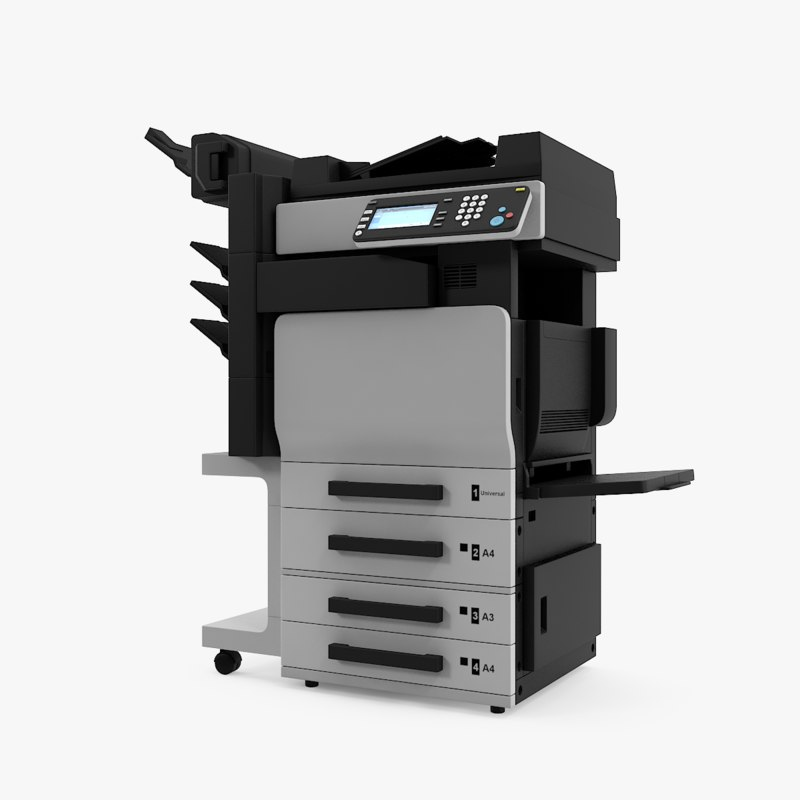 xerox printer 3D