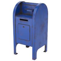 post box 2 3D model