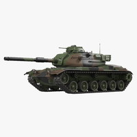 US Combat Tank M60A3 Patton