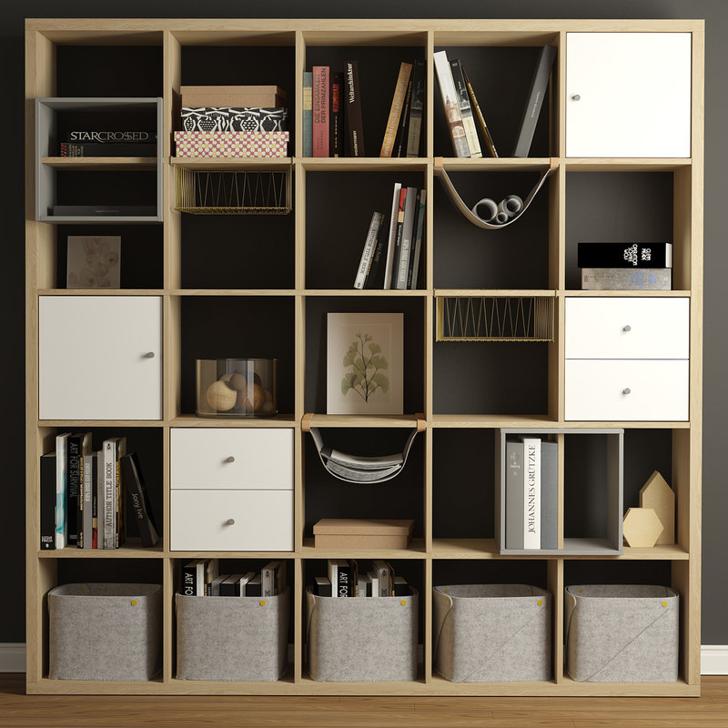 decor shelf unit 3D model