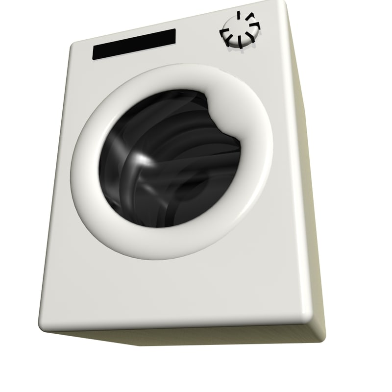 washing machine loaders 3D model
