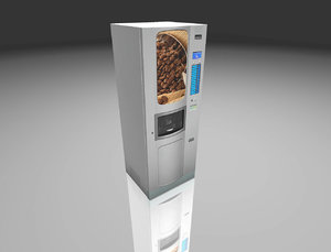 coffee machine 3D