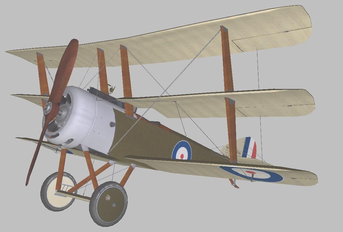 3D sopwith world war