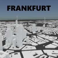 frankfurt 3D model