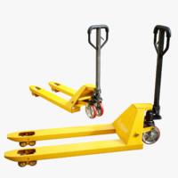 3D parts forklift model