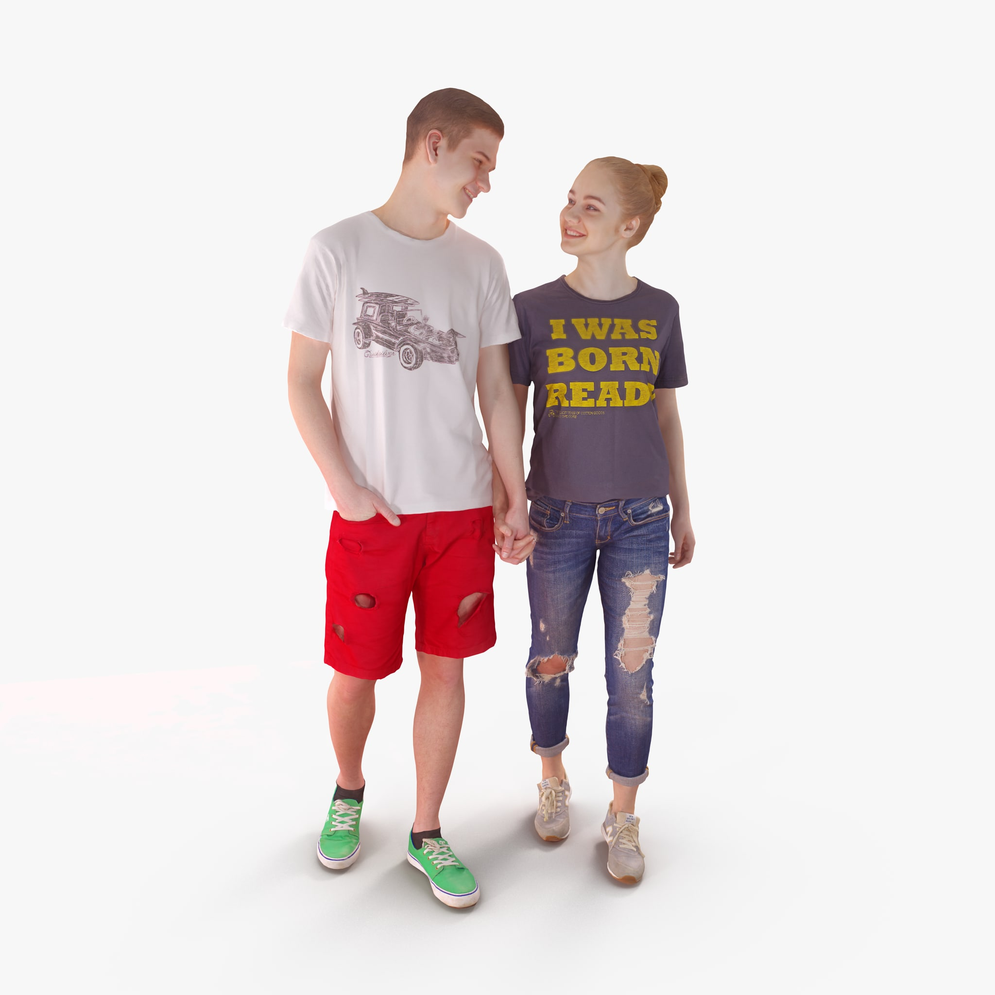 young love 3D model