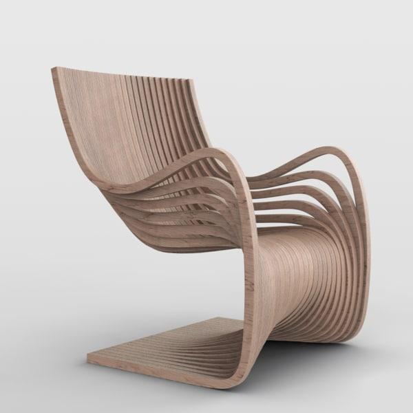 piegatto pipo chair model