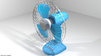 desktop fan 3D model