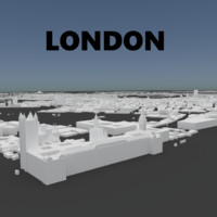3D london model