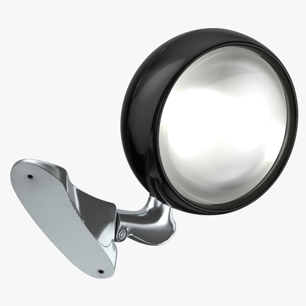 3D car search light lit