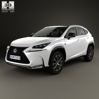 Lexus NX F-sport with HQ interior 2014