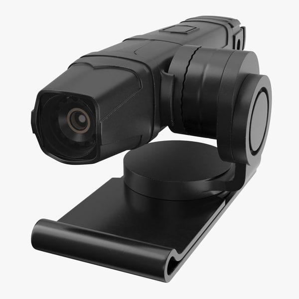 lapel cam 3D model