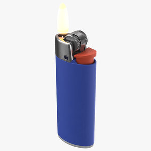 3D model lighter light