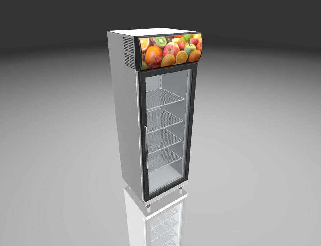 refrigerator ready games 3D model