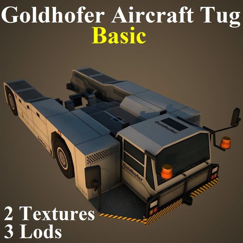3D goldhofer tug basic