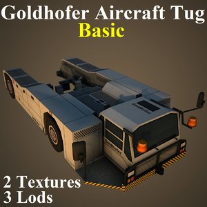 3D goldhofer tug basic