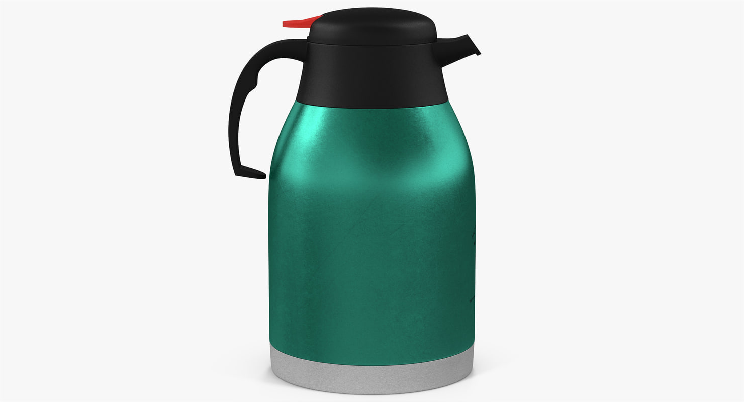 thermos coffee 3D model