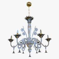 chandeliers sylcom giustinian 1377 3D