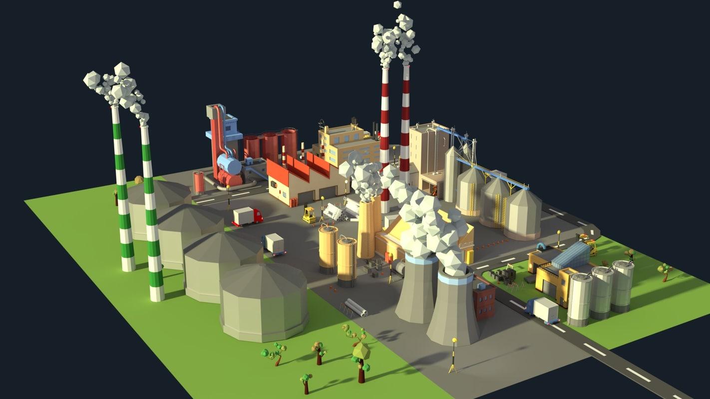 3D factories industrial