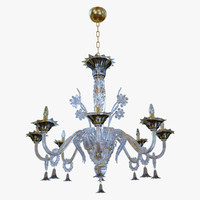 3D chandeliers lights sylcom giustinian
