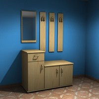 3D hall furniture