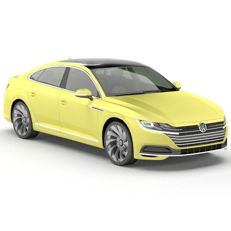 volkswagen arteon 3D model