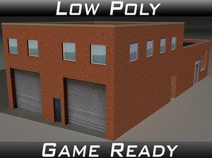 factory building 19 3D
