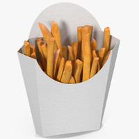 3D french fries 5 model